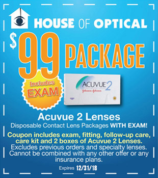 $99 Package with Exam