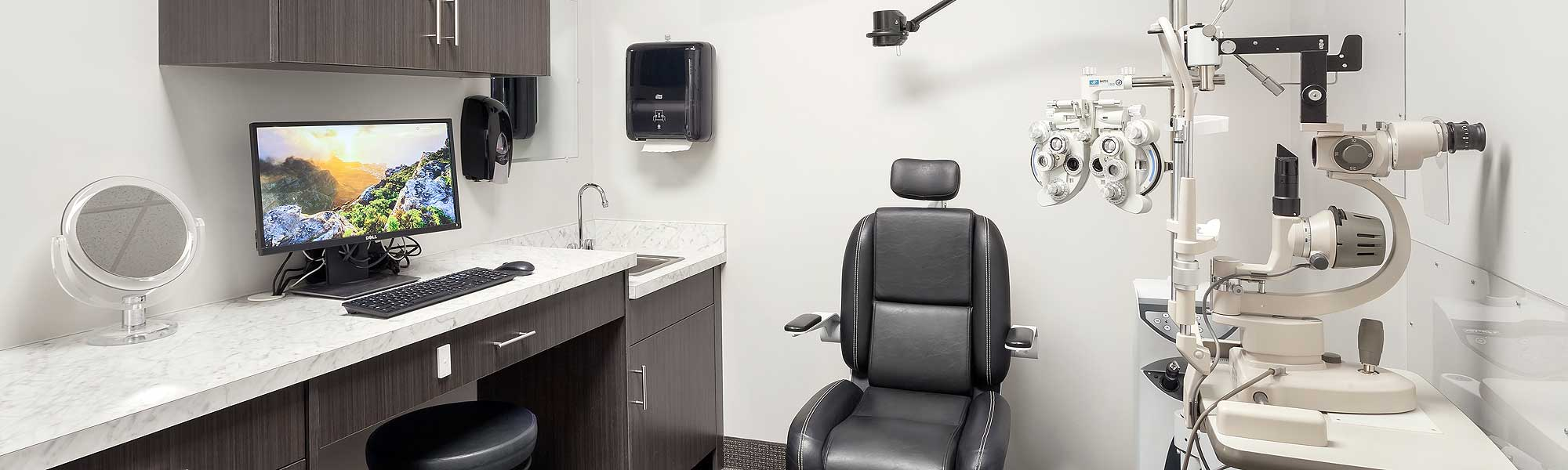 House of Optical New Exam Rooms
