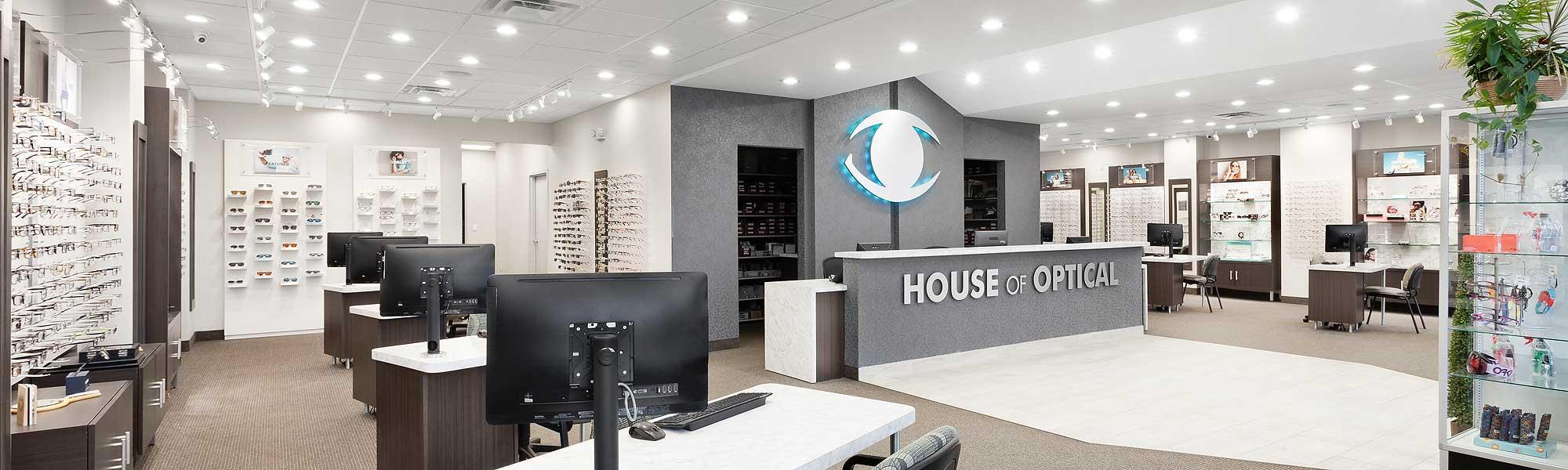 Designer Eyewear in Our New Showroom