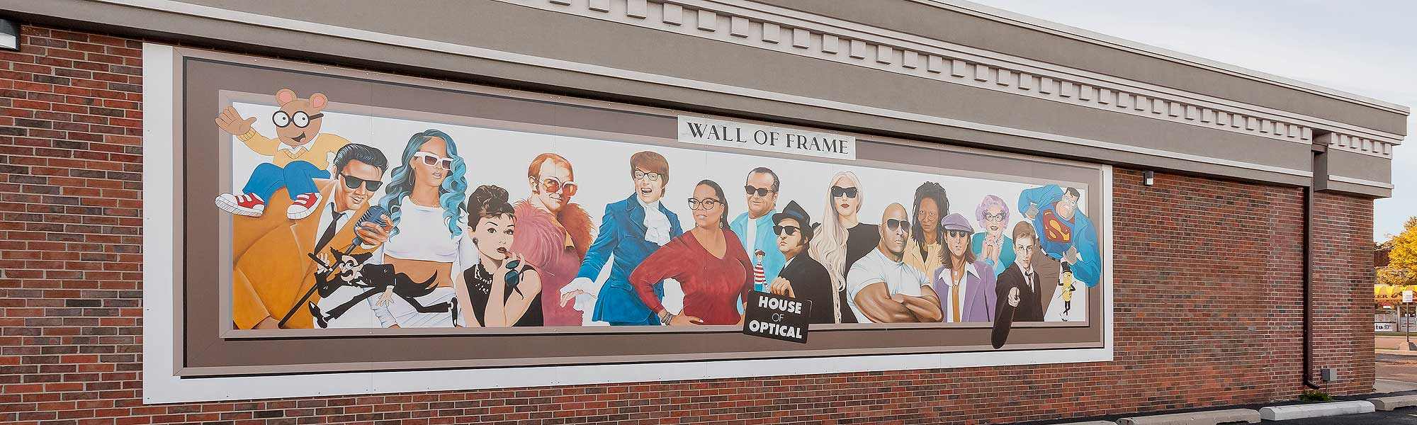 The Famous Wall of Frame